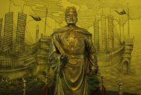 回族历史名人郑和铜像