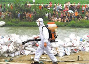 洪水灾区常见7种疾病和主要症状