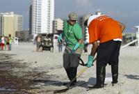 墨西哥湾清理工作正在紧张进行
