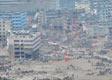 泥石流流经受灾地区