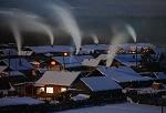 雪乡夜色美