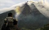 远观锡纳朋火山