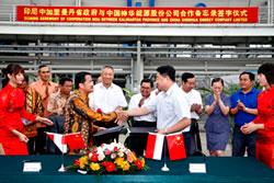 神华集团与印尼政府签署开发协议