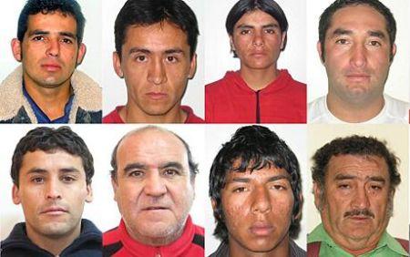 阿莱克斯-维加-萨拉扎尔、艾端-泰特纳、 卡洛斯-布古埃诺、卡洛斯-巴里沃斯、乔治-加利古洛斯、吉米-桑切斯、富兰克林-罗伯斯、弗洛仁科-阿瓦洛斯。