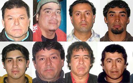 巴勃罗-罗哈斯、佩德罗-孔蒂斯、劳尔-巴斯塔斯、里那恩-阿瓦洛斯、维克多-扎莫拉、维克多-塞戈维亚、萨穆埃尔-阿瓦洛斯、里查德-比亚罗埃尔。