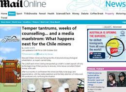 《每日邮报》:获救矿工将接受数月心理和生理康复