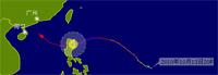 动画:台风鲇鱼路径