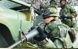 韩国士兵参加演习