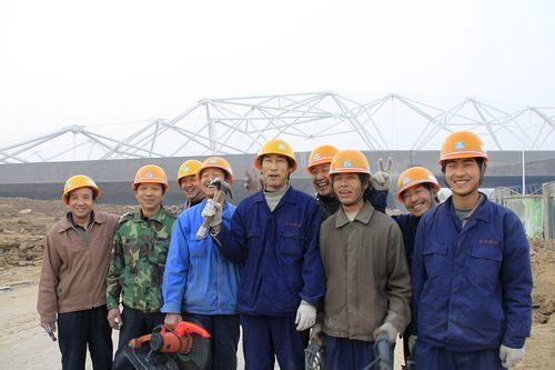 世园建设者影像