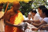 斯里兰卡为日本举行传统佛教仪式