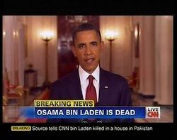 奥巴马取得了小布什寤寐以求、却长期求之不得的决定性成绩