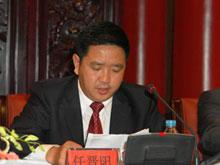 中国光华科技基金会秘书长任晋阳发言