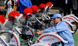 上海自行车将纳入公交专用道网络