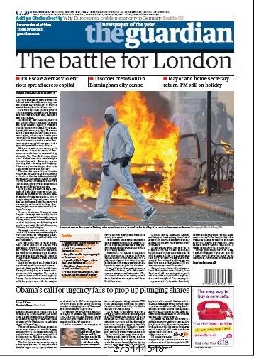 英国《卫报》:伦敦之战