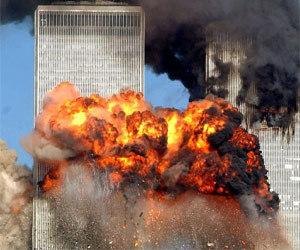 2001年9月11日9:03分纽约世贸大厦爆炸