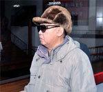 Kim visits a factory