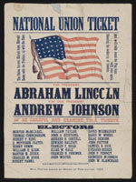 1864年 亚伯拉罕-林肯