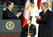 2003年12月 国务院总理温家宝访美