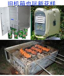 废旧机箱变酒柜、信箱、烧烤架