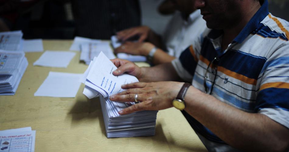 埃及总统选举第一轮投票结束