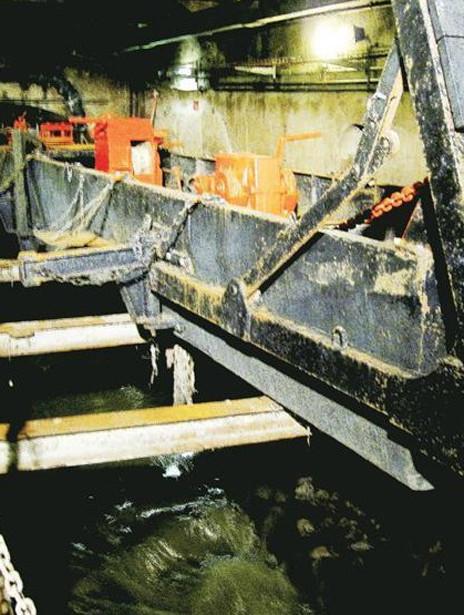 巴黎清理下水道的机器设备