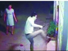靖江公安局副政委之子砍人被拘