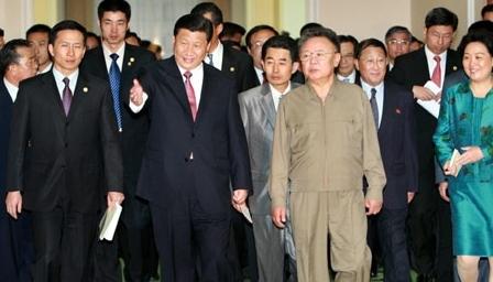 2008年 访问朝鲜会见金正日