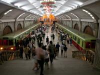 中国支援平壤建设世界最深地铁