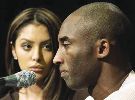 NBA巨星科比离婚