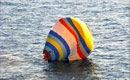 中国男子乘热气球登钓岛