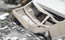 日自卫队机库被雪压塌