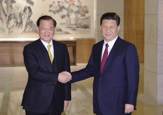 习近平:尊重台湾同胞选择的社会制度(全文)