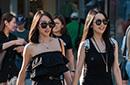 街拍北京时尚靓女