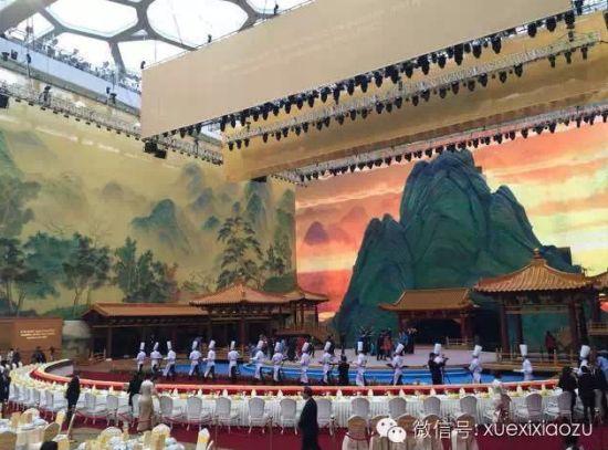 水立方奥林匹克大厅。