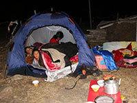 四川康定地震已致5死54伤 震中急需保暖帐篷