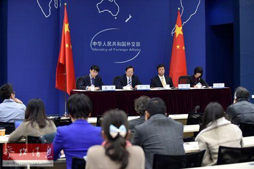 外交部举行反腐败国际追逃追赃媒体吹风会