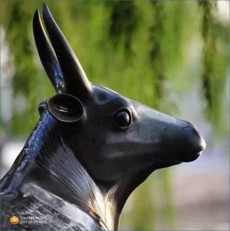 颐和园铜牛