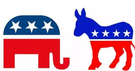 美国共和党和民主党的比拼