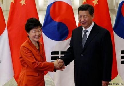 中韩签署自由贸易协定