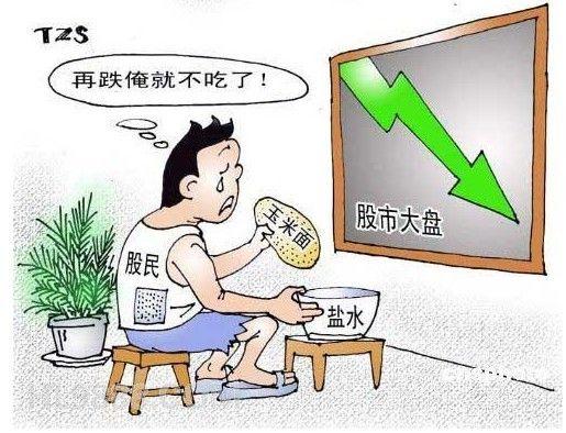 今年股市波动,众多网友被套。