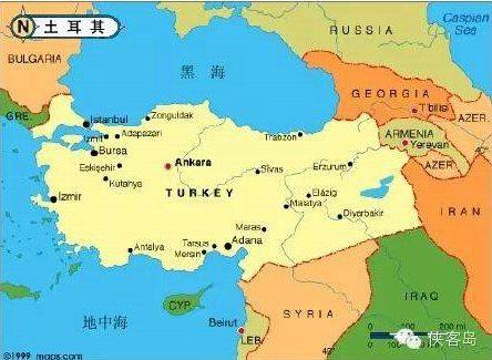 土耳其在地理位置上就扼住了俄罗斯的黑海向地中海的通道,让俄罗斯黑海舰队变成了内湖部队