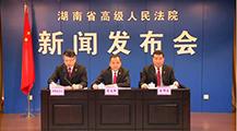 湖南法院加强知识产权司法保护工作情况新闻发布会