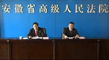 安徽法院知识产权司法保护状况新闻发布会