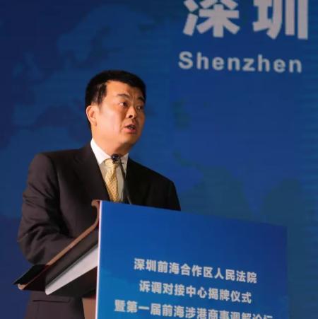 深圳市中级人民法院胡志光副院长