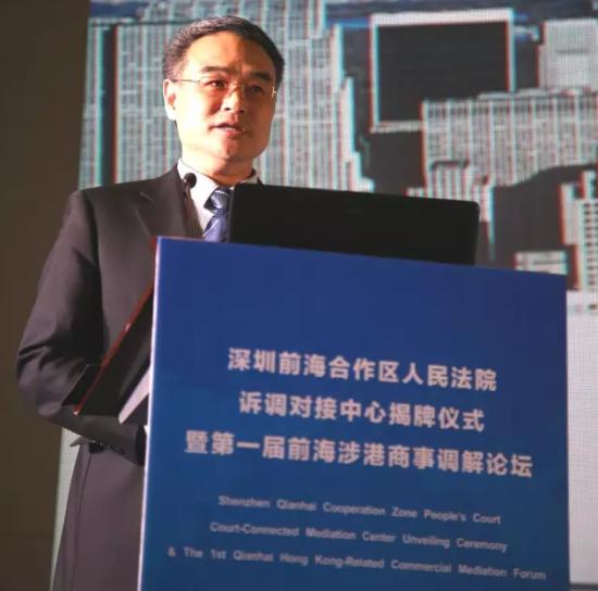最高人民法院高级法官、中国应用法学研究所所长蒋惠岭