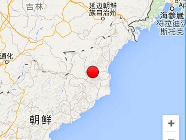 朝鲜地震中国延吉有明显震感 家具晃动明显