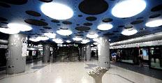 北京地铁奥运支线开始试运行