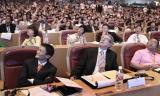 图文:孙正义的演讲多次让马云笑起来