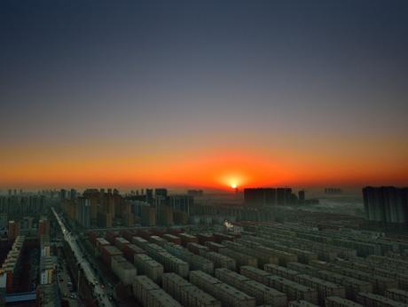 实拍冬至日出——阴极阳生