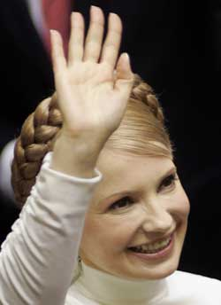 乌克兰首次以举手方式表决 季莫申科最低票出